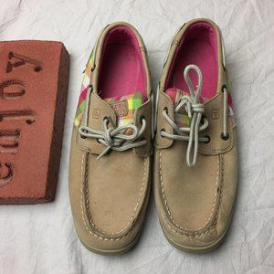 Sperry Top-Sider Intrepid Linen Paradise Size 4.5M